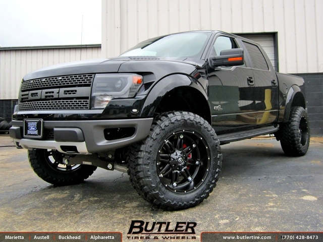 Ford Raptor with 22in Fuel Hostage Wheels