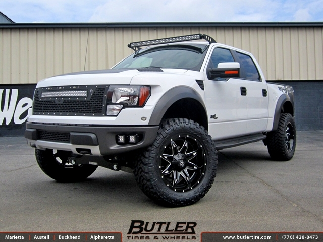 Ford Raptor With 22in Fuel Lethal Wheels Exclusively From