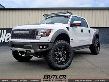 Ford Raptor with 22in Fuel Lethal Wheels