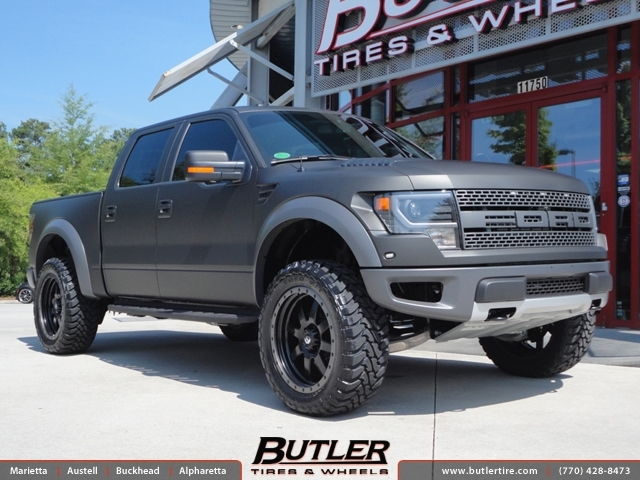 Ford Raptor with 22in Fuel Trophy Wheels