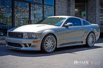 Ford Saleen with 20in TSW Rascasse Wheels
