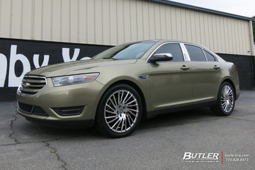Ford Taurus with 20in Lexani Wraith Wheels