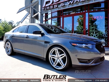 Ford Taurus SHO with 22in Lexani R-Five Wheels
