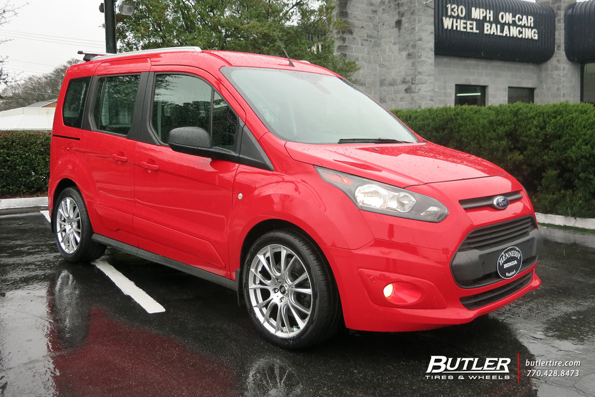 Ford Transit with 18in Enkei Amado Wheels