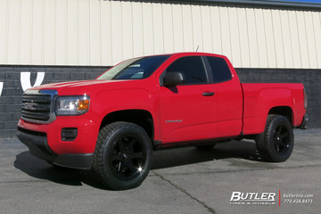 GMC Canyon with 20in Fuel Ripper Wheels