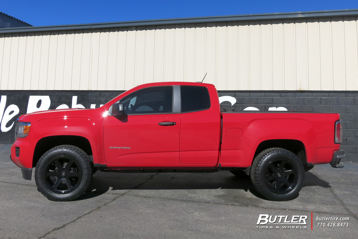 GMC Canyon with 20in Fuel Ripper Wheels exclusively from ...