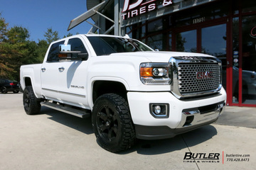 GMC Denali with 20in Fuel Beast Wheels