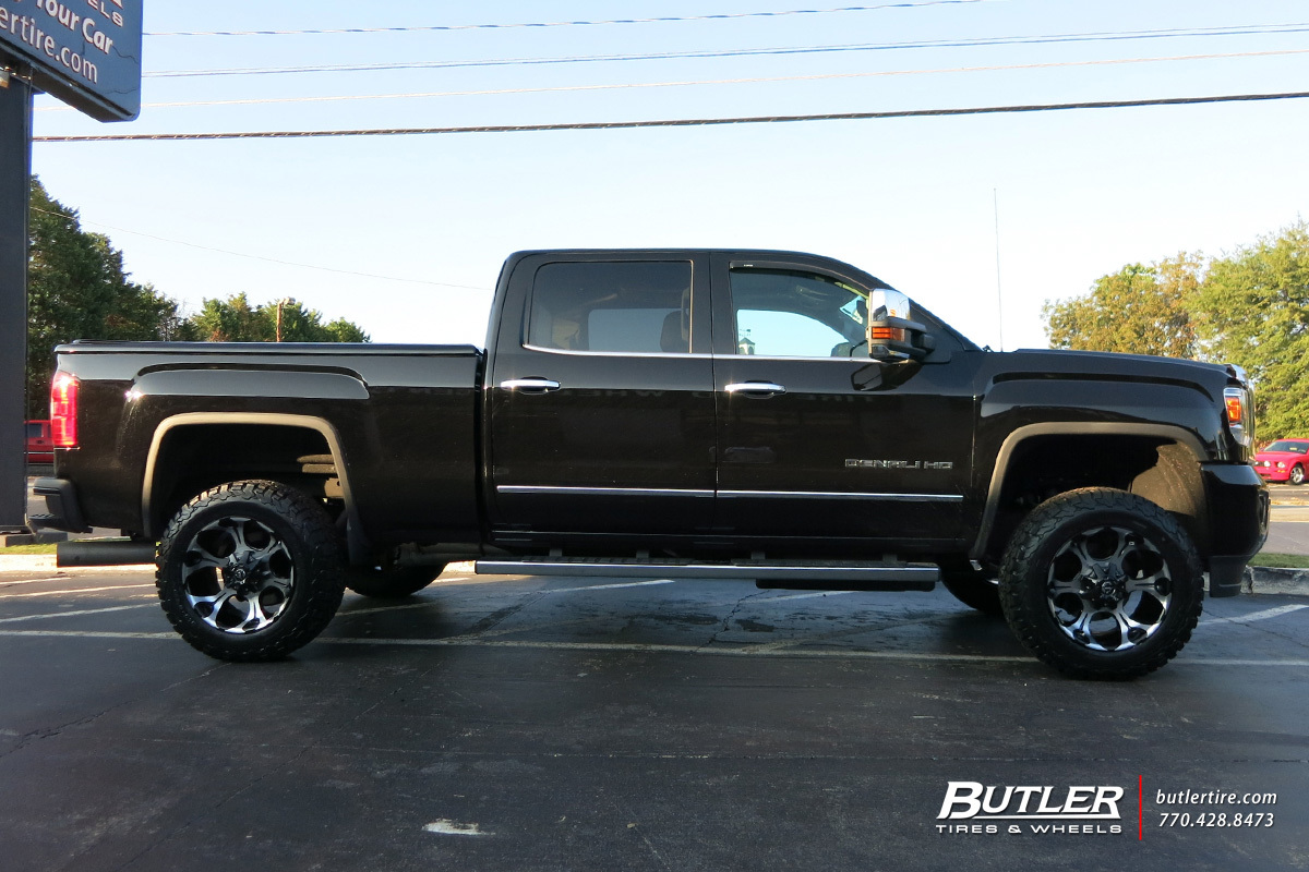 Gmc Denali With 20in Fuel Dune Wheels Exclusively From