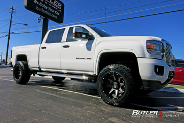 GMC Denali with 20in Fuel Rampage Wheels