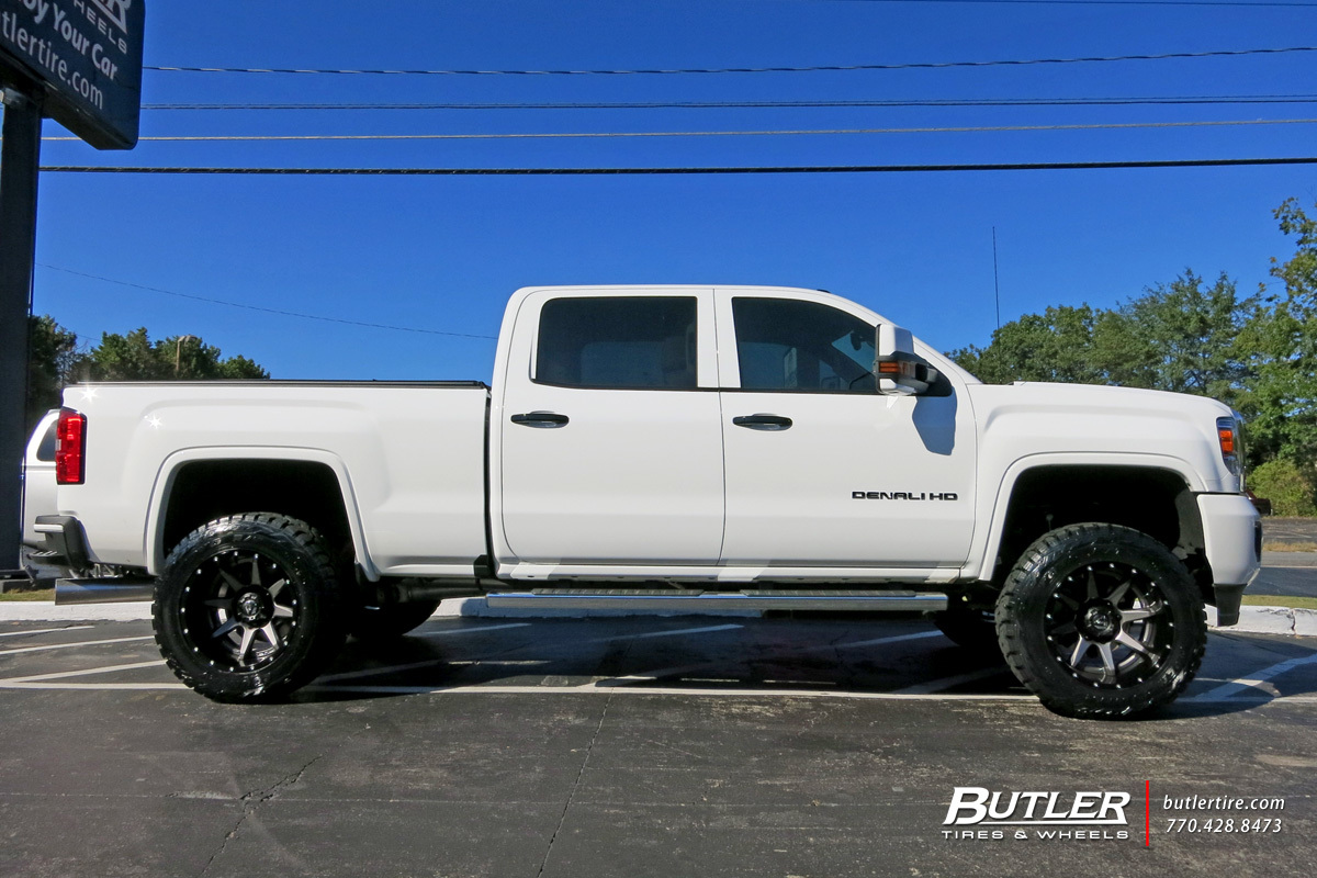 Gmc Denali With 20in Fuel Rampage Wheels Exclusively From