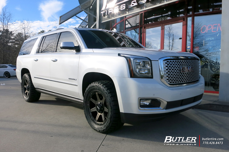 Gmc Terrain Denali >> GMC Denali with 20in Grid Offroad GD6 Wheels exclusively from Butler Tires and Wheels in Atlanta ...