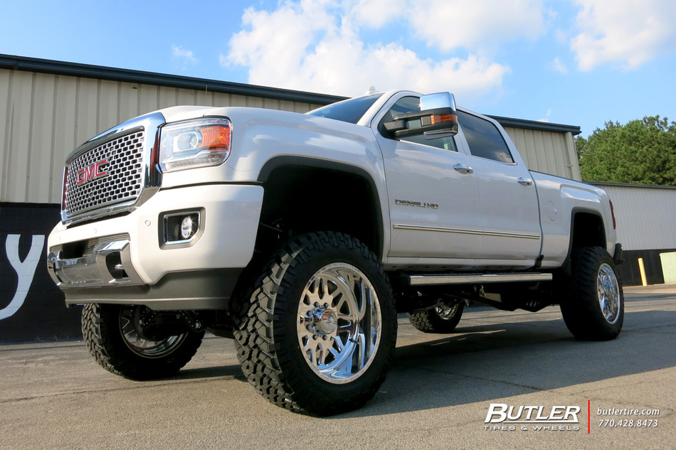 GMC Denali with 22in American Force Trax Wheels ...