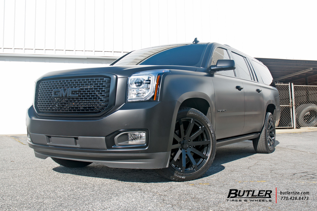 Gmc Denali With 22in Black Rhino Traverse Wheels Exclusively From Butler Tires And Wheels In Atlanta Ga Image Number 9423