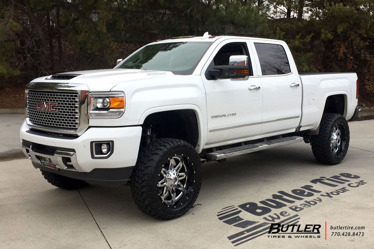 GMC Denali with 22in Fuel Lethal Wheels