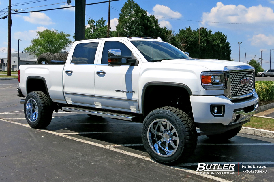 GMC Denali with 22in Gear Big Block Wheels exclusively ...