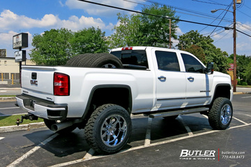 GMC Denali with 22in Gear Big Block Wheels