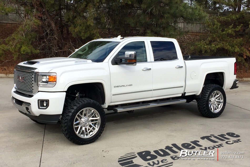 Gmc Denali With 22in Grid Offroad Gf2 Wheels Exclusively