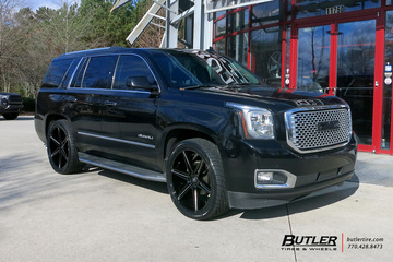 GMC Denali with 24in Asanti ABL25 Wheels