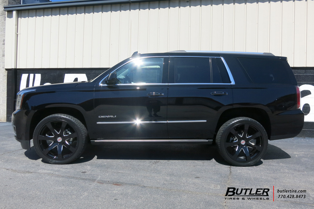 Gmc Denali With 24in Black Rhino Mozambique Wheels Exclusively From