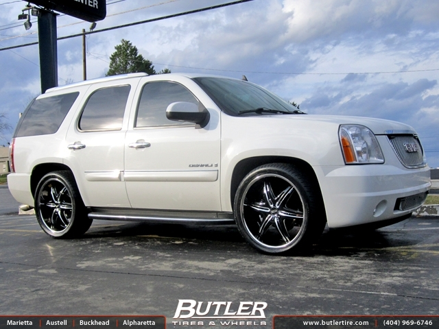 GMC Denali with 24in Foose Pinnacle Wheels