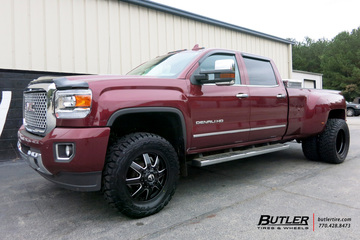 GMC Denali Dually with 20in Fuel Maverick Wheels