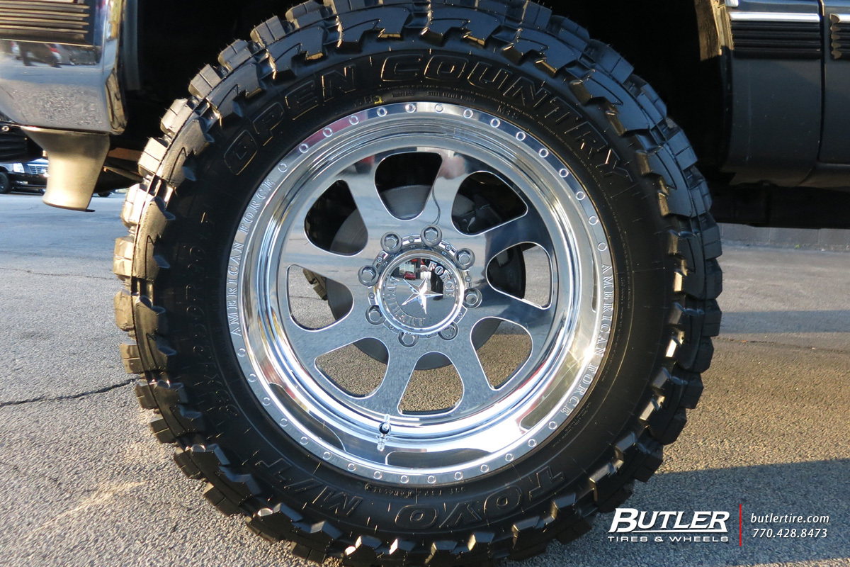 American Tires Locations >> GMC Sierra with 20in American Force Burnout 8 Wheels exclusively from Butler Tires and Wheels in ...