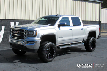 GMC Sierra with 20in Black Rhino Reaper Wheels