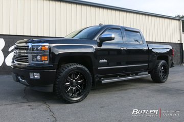 GMC Sierra with 20in Black Rhino Sierra Wheels