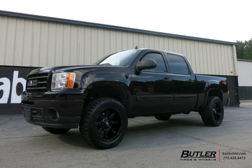 GMC Sierra with 20in Fuel Coupler Wheels