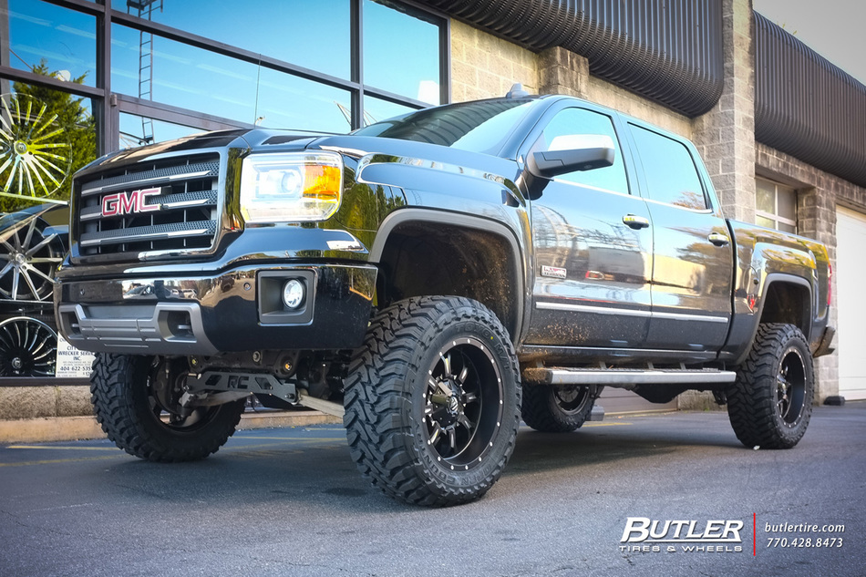 Gmc Sierra With 20in Fuel Krank Wheels Exclusively From