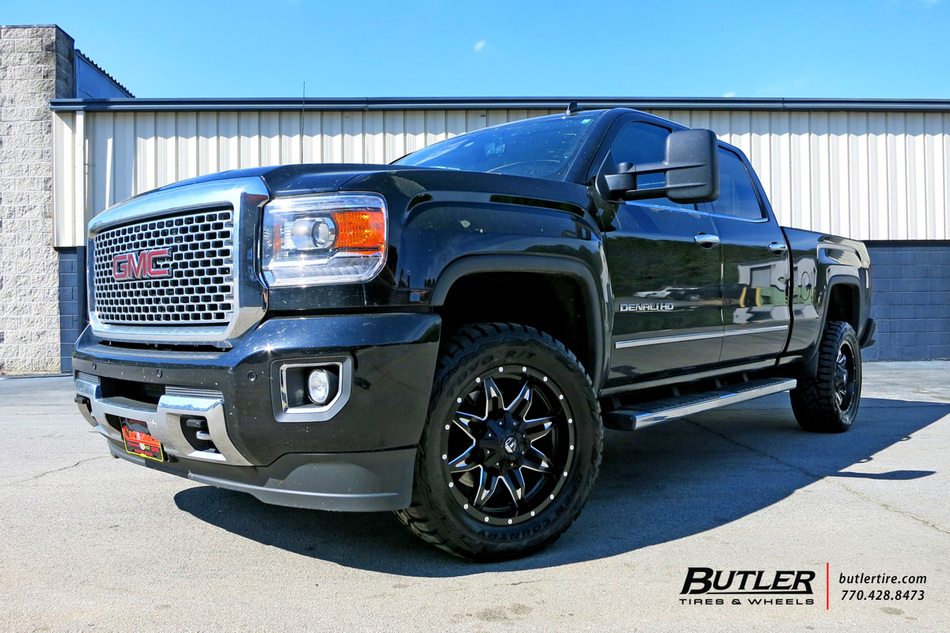 Gmc Sierra With 20in Fuel Lethal Wheels Exclusively From