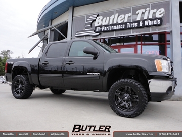GMC Sierra with 20in Fuel Pump Wheels