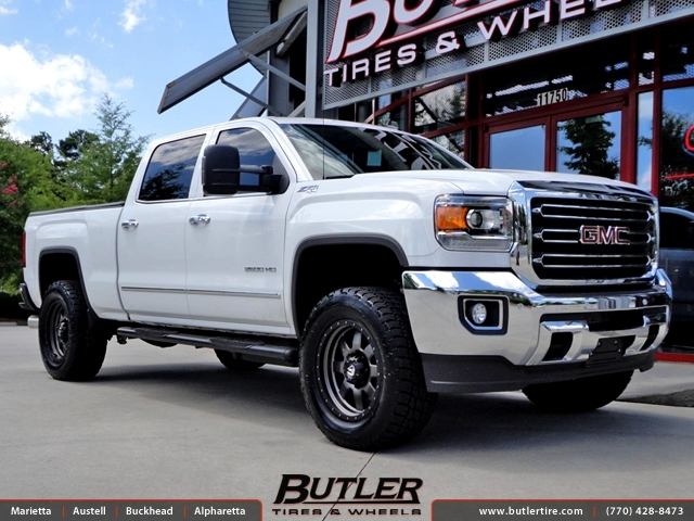 Gmc Sierra With 20in Fuel Trophy Wheels Exclusively From