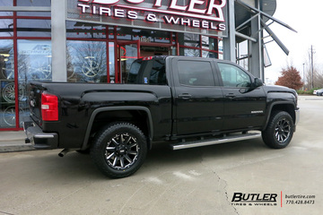 GMC Sierra with 20in Grid Offroad GD5 Wheels