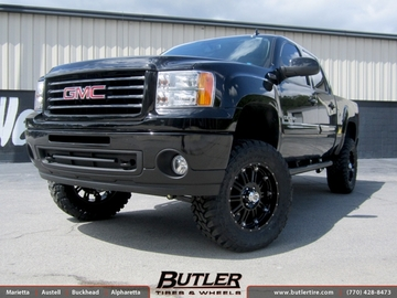 GMC Sierra with 20in XD Hoss Wheels