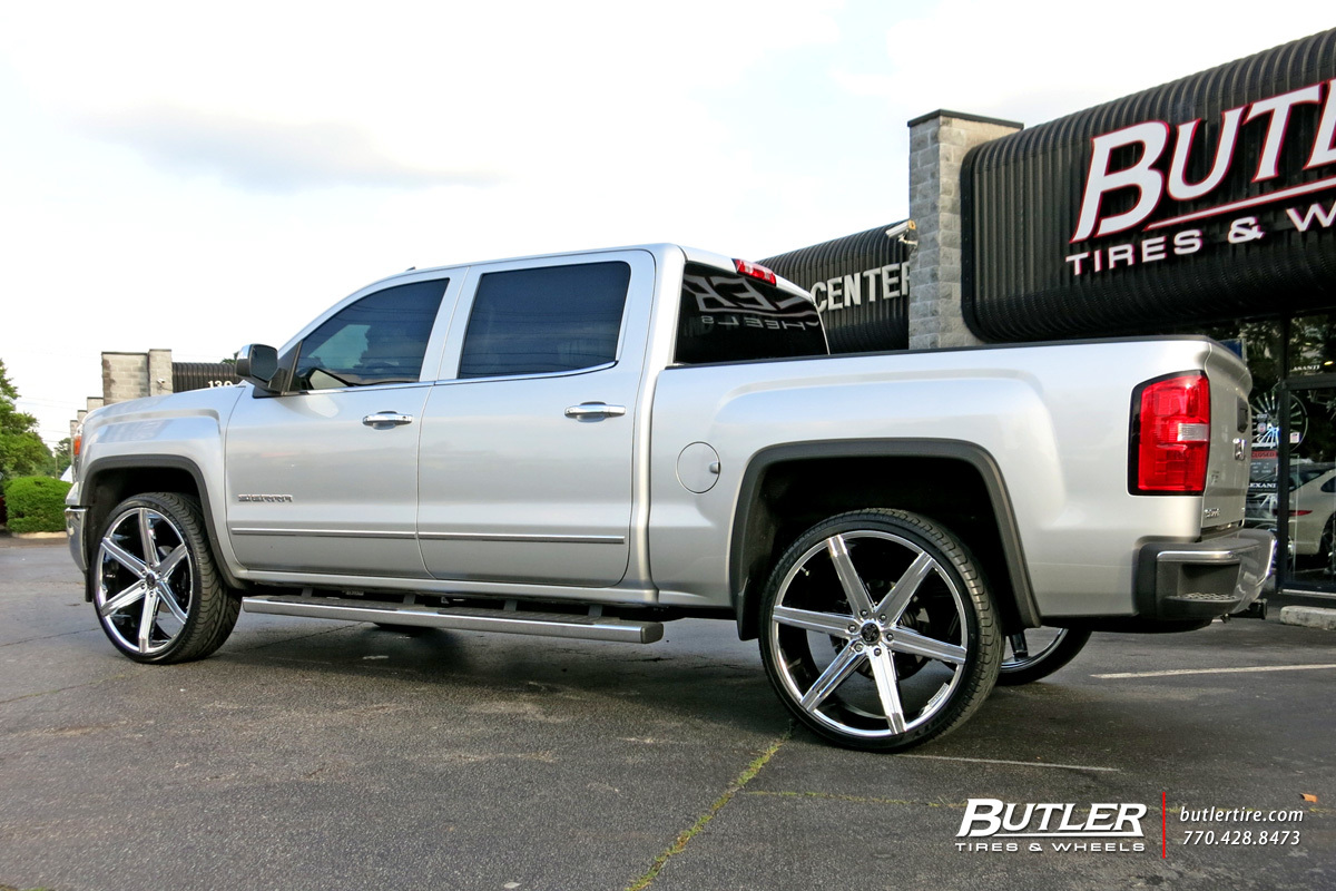 Gmc Sierra With 26in Versante 228 Wheels Exclusively From
