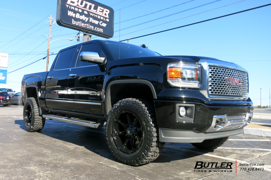GMC Sierra Denali with 20in Fuel Coupler Wheels exclusively from Butler Tires and Wheels in ...