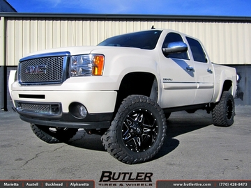 GMC Sierra Denali with 20in Fuel Full Blown Wheels