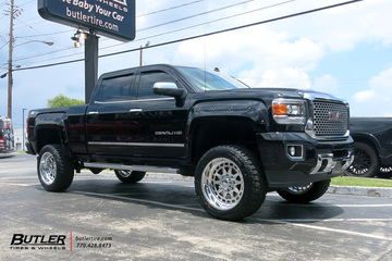 GMC Sierra Denali with 22in American Force Gladiator Wheels