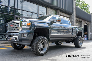 GMC Sierra Denali with 22in Asanti AB814 Wheels