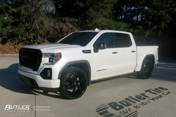 GMC Sierra Denali with 26in Forgiato F2.20 Wheels