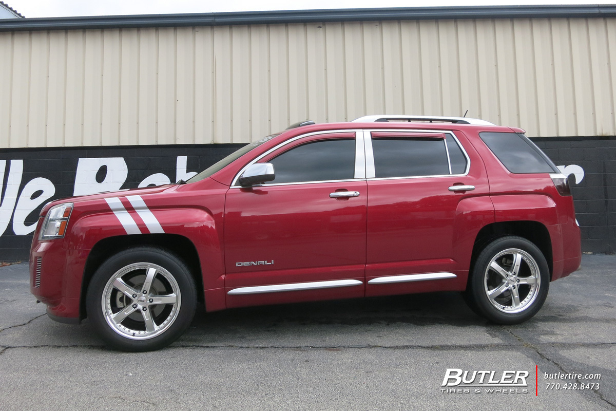 GMC Terrain with 19in TSW Jarama Wheels