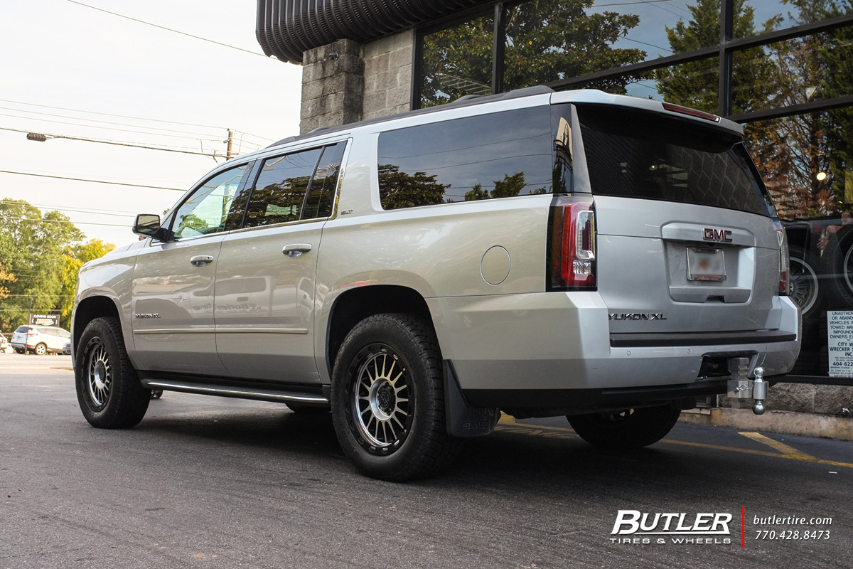 GMC Yukon with 20in Black Rhino Taupo Wheels