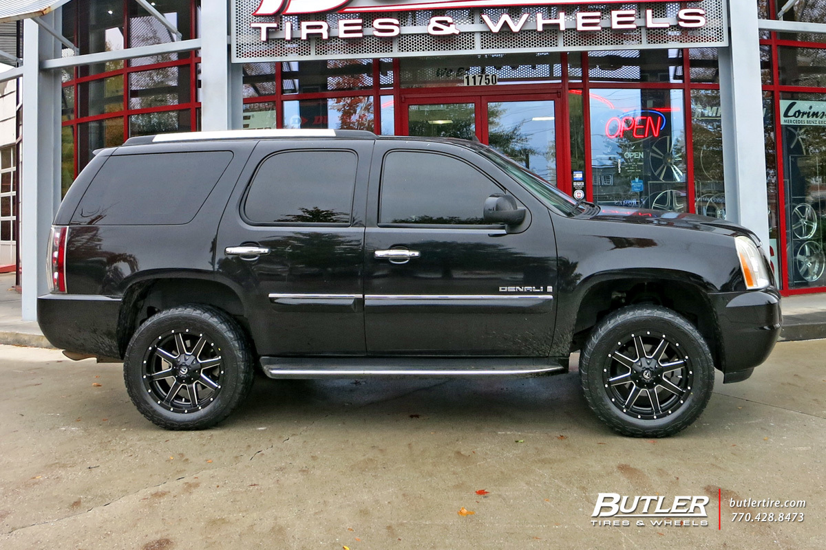 Gmc Yukon With 20in Fuel Maverick Wheels Exclusively From