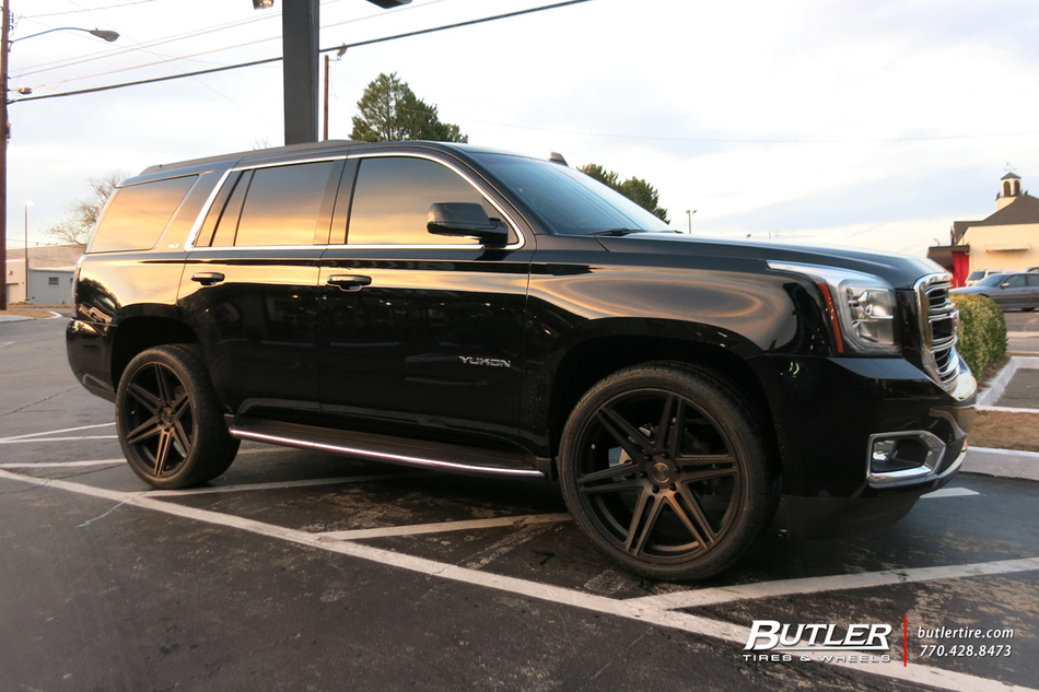 GMC Yukon with 24in DUB Skillz Wheels exclusively from ...