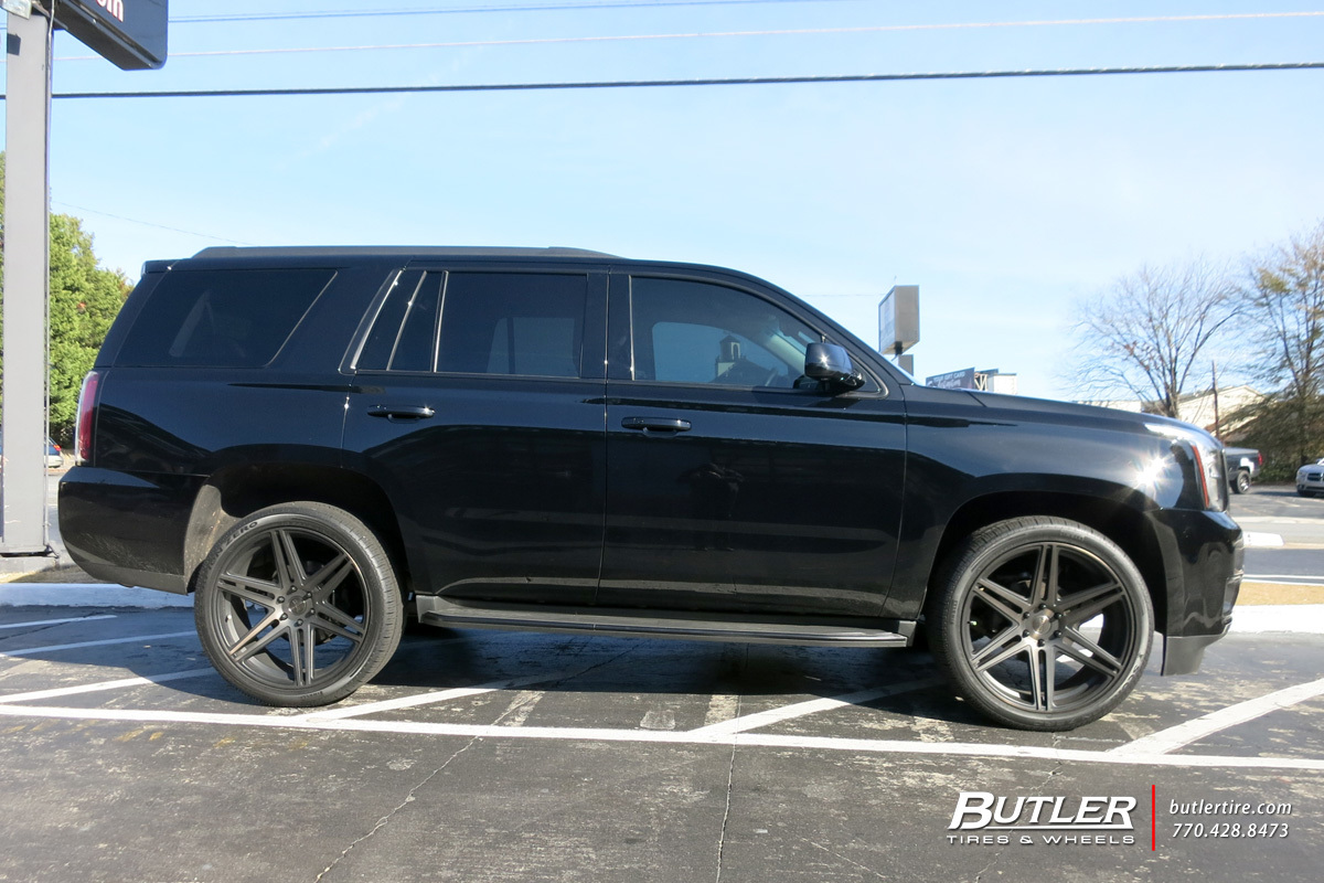 Gmc Yukon With 24in Dub Skillz Wheels Exclusively From