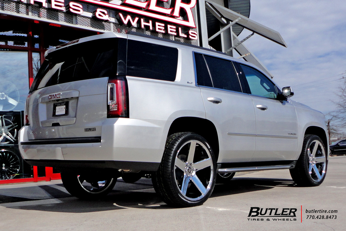 GMC Yukon with 24in Dub Baller Wheels