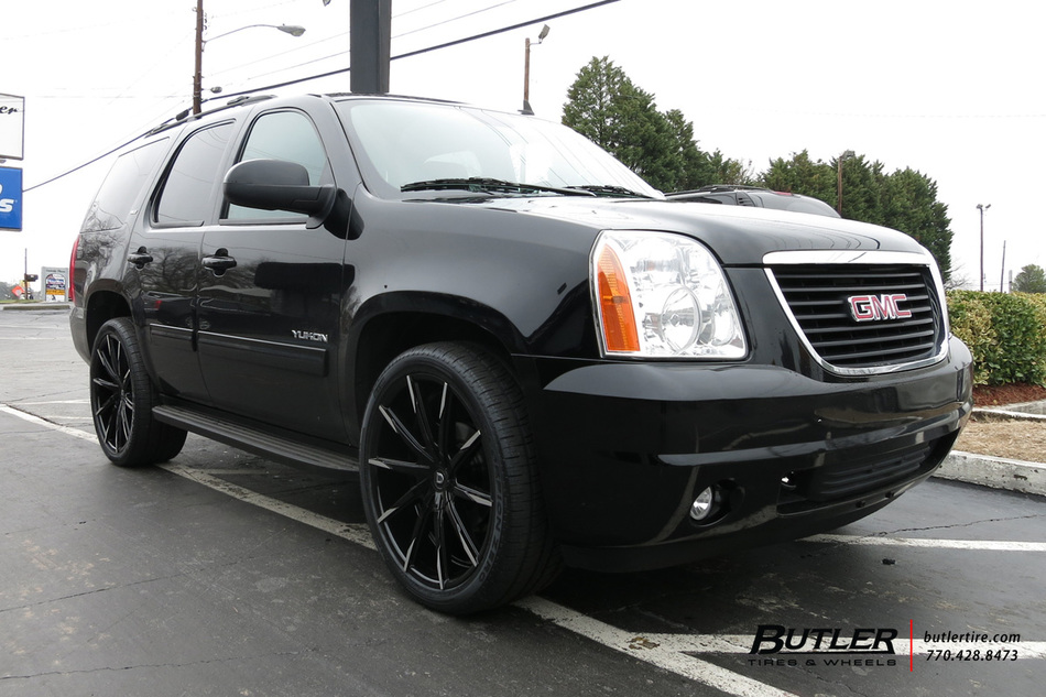 GMC Yukon with 24in Lexani CSS15 Wheels exclusively from ...
