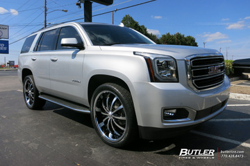 GMC Yukon with 24in Lexani LSS10 Wheels