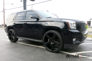 GMC Yukon with 26in DUB Baller Wheels